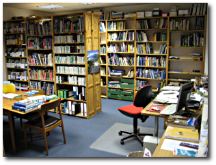 Bibliothek DAV Sektion Berlin Innenansicht