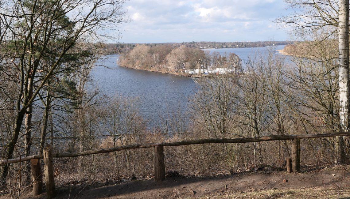 Blick vom HHW zur Insel Lindwerder, Foto: U. Preugschat
