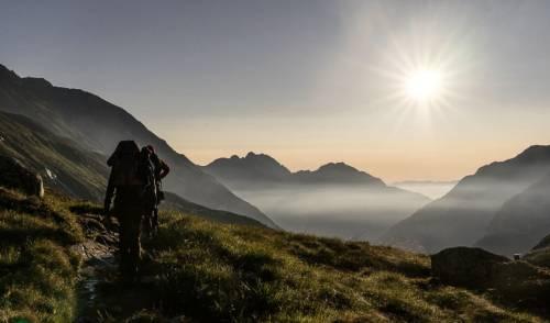 Morgenstimmung im Stubai nahe Franz-Senn-Hütte. Foto: Max Franks